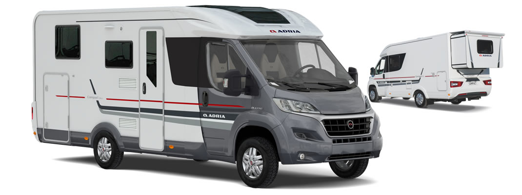 Compact Plus Slide Out 2017 Adria Motorhome